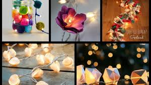 Diy lighting ideas Projects Best Diy String Lights Ideas Lighted Garland Tutorial Fairy Lights Room Decor Youtube Youtube Best Diy String Lights Ideas Lighted Garland Tutorial Fairy
