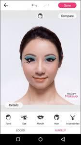 youcam makeup selfie camera