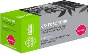 Купить <b>Картридж CACTUS CS</b>-<b>TK5220BK</b>, черный в интернет ...