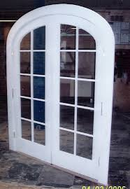 custom french patio doors. Arched Top Double French Exterior Door Unit.- Single Pane Glass - Restoration Project In MA Custom Patio Doors R