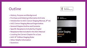 Ajcc Breast Cancer Staging Chart How To Use The Ajcc Cancer Staging Manual 8th Edition Ppt