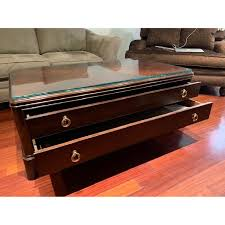 Gently used, vintage, and antique thomasville coffee tables. Thomasville Coffee Table W Storage Aptdeco