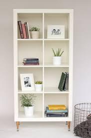 Kallax IKEA Hack tutorial - adding a back board and feet ikea kallax  bookcase birch