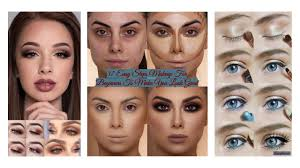 after you master the step by step makeup tutorial you can begin experimenting with distinctive looks simple makeup advice for beginners include things like