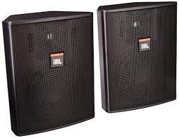 jbl outdoor speakers. amazon.com: jbl control 25 cabinet speaker compact indoor/outdoor, 2 way, 5.25 inch woofer, white- pair: electronics jbl outdoor speakers t