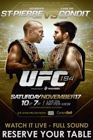Ufc Flyer Template GSP Vs CONDIT UFC PRIMETIME EPISODE 24 REAL COMBAT MEDIA 2