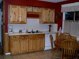 Pine Kitchen Cabinets For Amazing 16 Kitchen With Knotty Pine Walls On Knotty Pine Kitchen