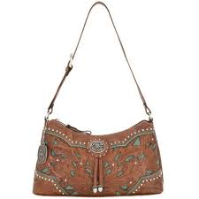 western purses and accessories lady lace tan turquoise zip top shoulder bag lone star western decor
