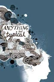 anything but typical by nora raleigh baskin when i write i can be heard find this pin and more on lizzy s book review