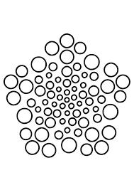 Kleurplaat Mandala 6 Afb 19505