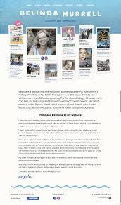 Children S Author Website Design Belinda Murrell Author Website Inspiration