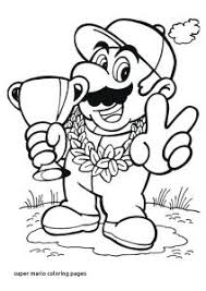 Mario Odyssey Coloring Pages Cappy Super To Sky Page Color Paper And