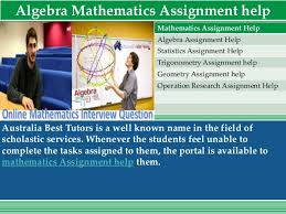 assignment help best assignment expert  7 algebra mathematics assignment