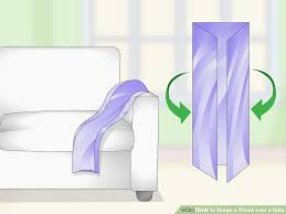 image titled d a throw over a sofa step 1