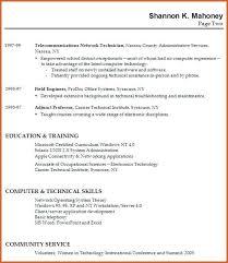 Resume No Work Experience | Resume Name