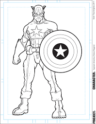 Small Picture Captain America Coloring Page FreeAmericaPrintable Coloring