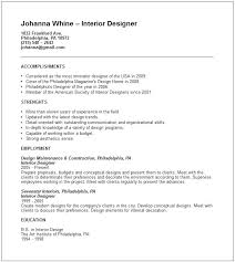 interior decorator resumes interior design resume interiors and design interior design samples