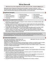 Hospice Nurse Resume Examples Examples Of Resumes