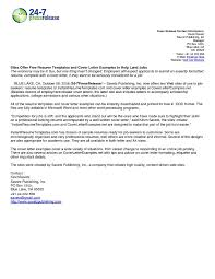 Email Cover Letter Exa Professional Examples Of Email Cover Letters