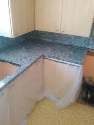 updating kitchen countertops with faux finish paint, countertops, how to,  painting