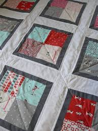 221 best Charm Pack Ideas images on Pinterest | Quilt patterns ... & Baby Quilt DIY Tutorial - can be make with a charm pack - easy quilting  design Adamdwight.com