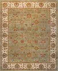 rugsville ziegler light green beige wool 10390 8x10 rug