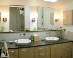 Home Decoration: Simple Oval Bathroom Frameless Mirror And Oval ...