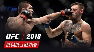 UFC Decade in Review - 2018 - YouTube