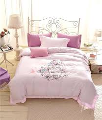 princess bedding twin set girls sets duvet covers pink strawberry plaid flat bed sheet