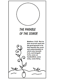 Parable Of The Sower Doorknob Hanger