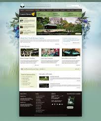 Free Adobe Photoshop Website Templates By Colorifer Garden Impressive Garden Web Design Design
