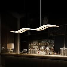 aliexpresscom buy modern led pendant lights for dining room kitchen acrylic suspension hanging ceiling lamp luminaire suspendu pendant lamps from pendant lighting living room