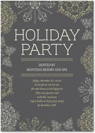 Corporate Holiday Party Invite Corporate Holiday Party Invitations Embroidered Snowflake