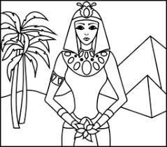 Princess Of Egypt Coloring Page Printables Apps For Kids