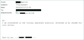 how to send resume via email sending resume via email sample