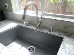 Blanco Super Single Precis Granite Composite In Bowl Kitchen  Sink White Cinder47