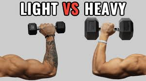 Light Weights Vs Heavy Weights For Muscle Growth 6 Studies
