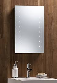 LED Battery Bathroom Mirror Illuminated Fully Certified to British