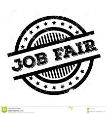 Design Job Fair Job Fair Rubber Stamp Stock Illustration Illustration Of