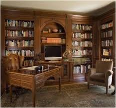 home office library design ideas. traditional home office by einstein design group library ideas