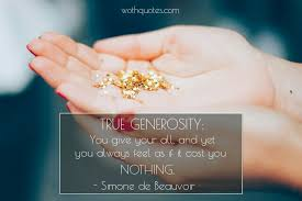 Generosity Quotes Enchanting Inspirational Quotes And Sayings About Generosity WothQuotes