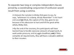 16. Use a semicolon ...