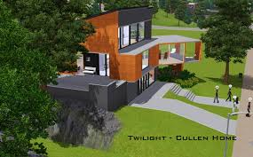 Mod The Sims  Twilight  The Cullen HomeCullen House Floor Plan