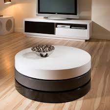 coffee table modern round coffee table with storage