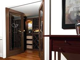 Convert Bedroom To Closet View Into A Small Closet Converted Into A Small  Wine Room Showing . Convert Bedroom To Closet ...
