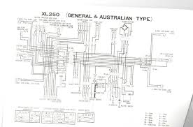 honda xr100 wiring diagram honda wiring diagrams