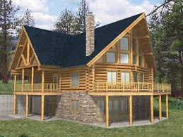 Log Home Floor Plan Homestead Large Cabin Plans Main  Luxihome4 Bedroom Log Cabin Floor Plans