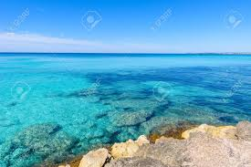 beach es trenc beautiful coast of mallorca spain stock photo 82796023
