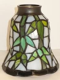 beautiful tiffany style stained glass ceiling fan lamp shade art