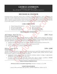 Mechanical Engineer Resume Beauteous Mechanical Engineering Sample Resume Kenicandlecomfortzone